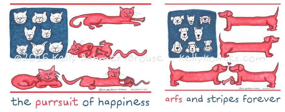 Ameri-cats and Ameri-canines!