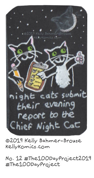 reporting to the chief Night Cat