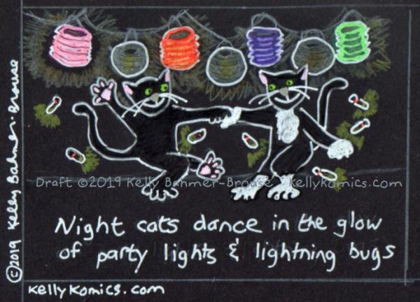 Cat dancing!