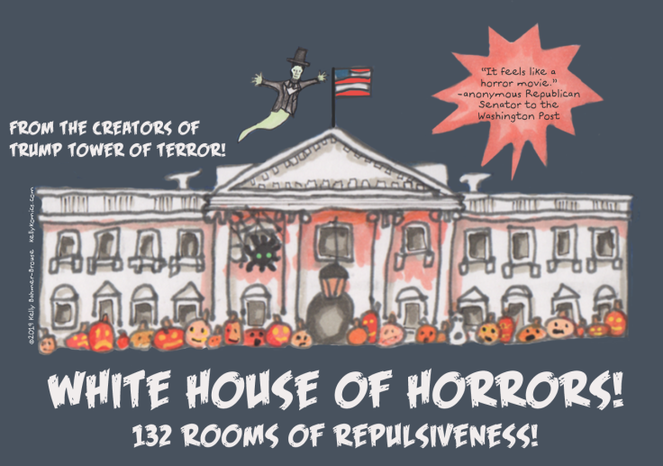Visit the White House of Horror: 132 Rooms of Repulsiveness~